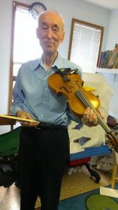 GG's violin